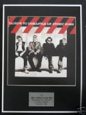U2 - Framed LP Cover - HOW TO DISMANTLE A BOMB